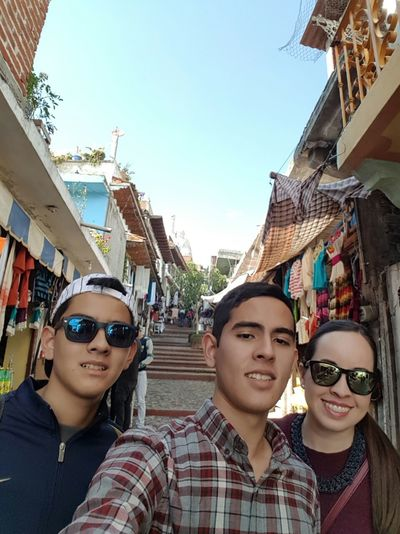 Looking At Camera Outdoors Day Michoacan De Ocampo Janitzio Selfie ✌
