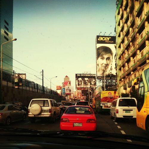 Manila in one picture Mani Ed Billboa On The Ro Tr