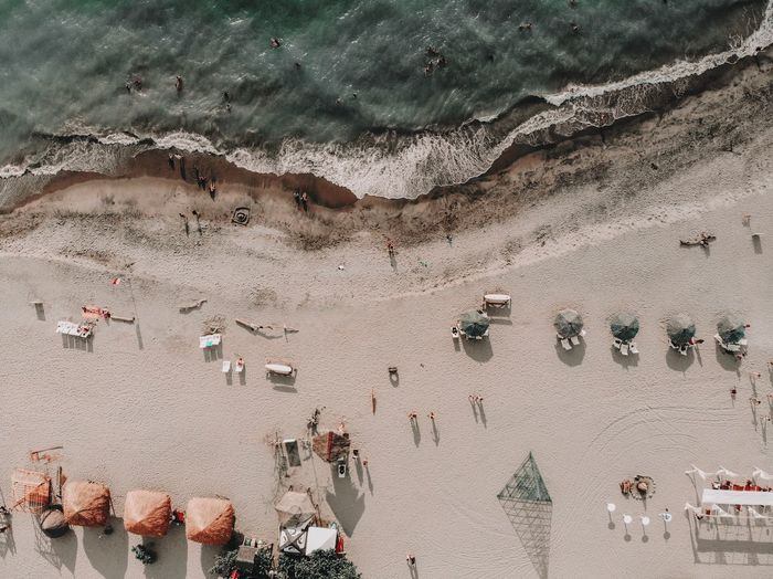 Always pay attention to the little details. Photography Tropical Nature Philippines Dronephotography Ariel View Drone  High Angle View Beach Real People Large Group Of People Water Nature Day Lifestyles Outdoors Sunlight Beauty In Nature Sea