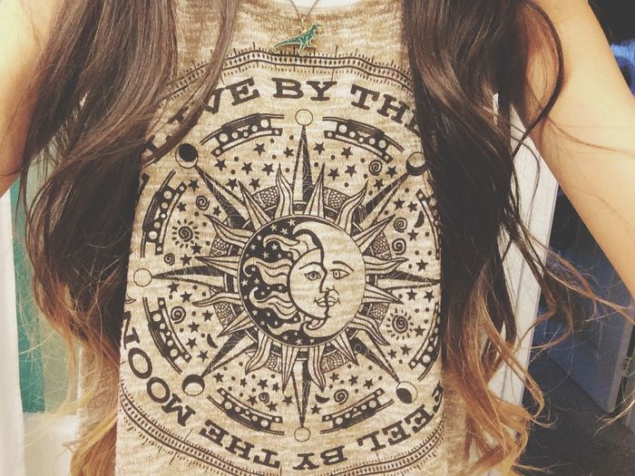 We live by the sun. We feel by the moon. ?