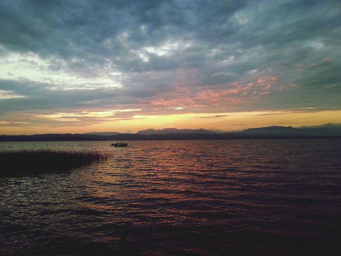 Italien ♡ Gardasee Sonnenuntergang SUMMER 2014♥