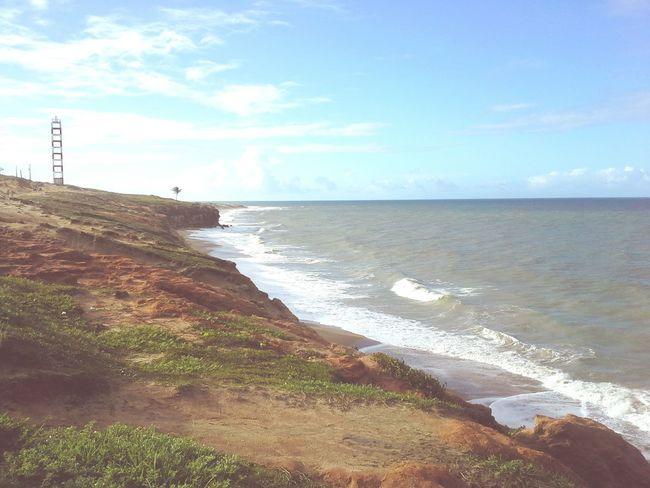 Sea Water Beach Horizon Over Water Wave Nature Sand Cloud - Sky Vacations No People Praia Mar Sozinho Vista Podia ser assim sempre, so o mar eu e você