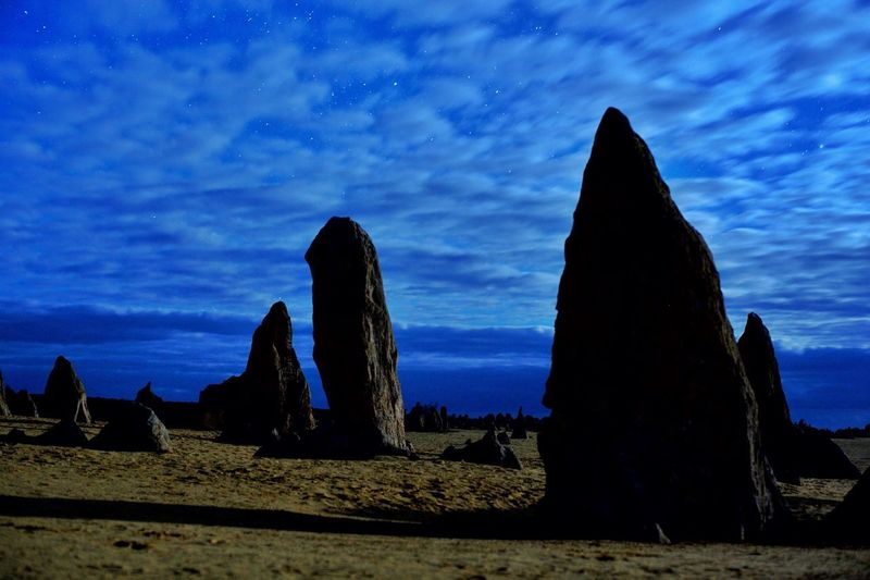 Pinnacles with