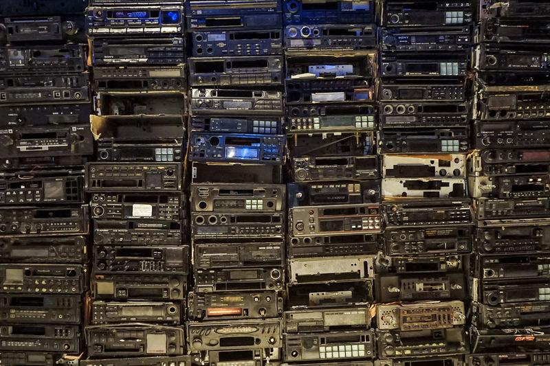 Full frame shot of computer
