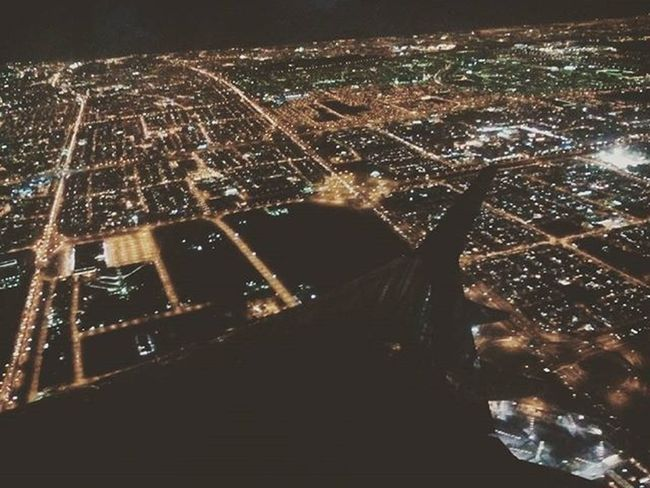 A small city, but big things to see, Kuwait Kuwaitcity Nighcity Flight Window Travelstagram Travel JD JDphotography @studentuniverse