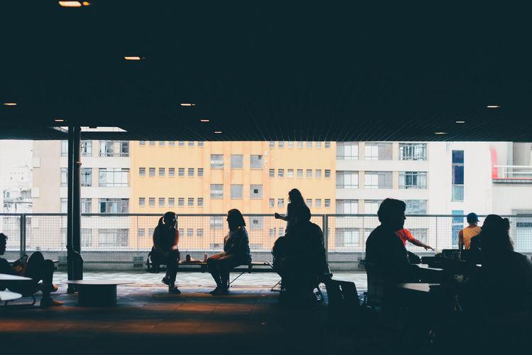 Sesc 24 de Maio 50mm Architecture Sao Paulo - Brazil TheWeekOnEyeEM Architecture Arquitetura Building Built Structure Canon Canonphotography Concrete Portrait Creative Space The Architect - 2018 EyeEm Awards #urbanana: The Urban Playground