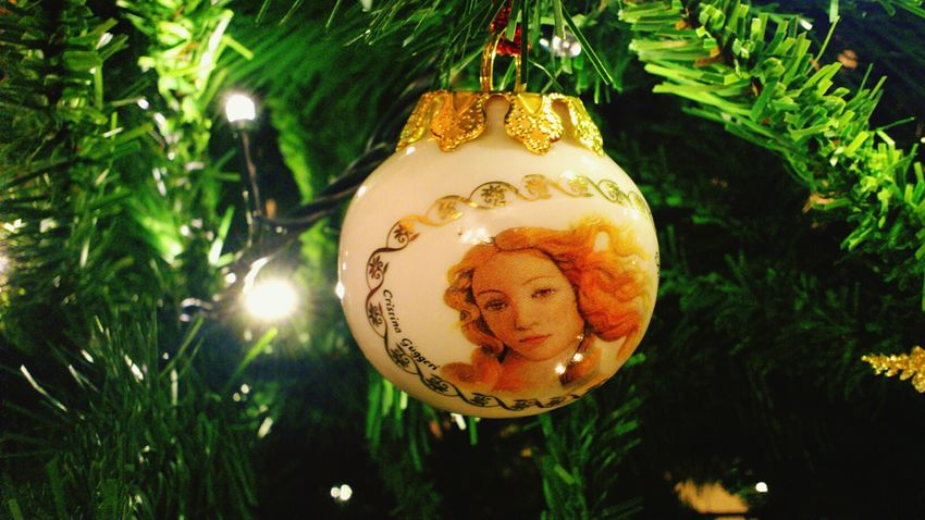 Venere Botticelli Christmas Ball Decoration Light Christmas Is Coming