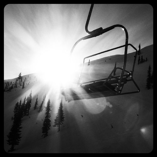 Black And White Outdoors Snowboarding Just Taking Pictures
