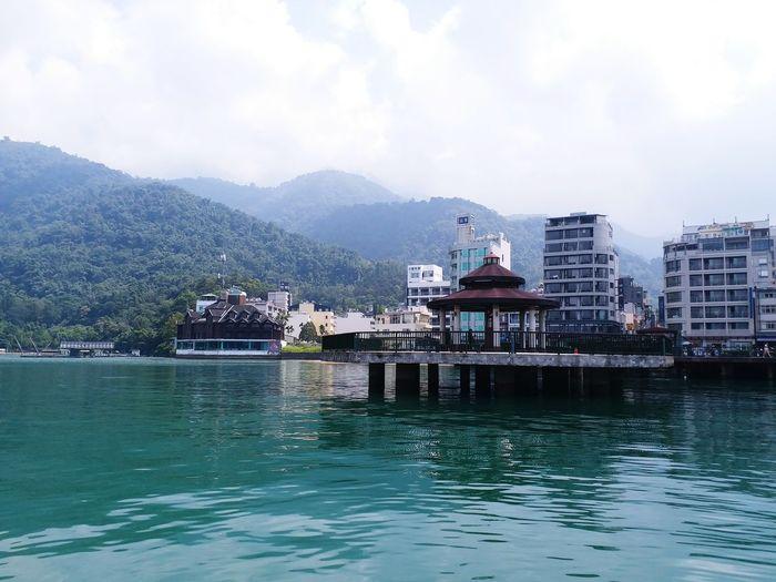 Sun Moon Lake in Taiwan 🇹🇼 Sunmoonlake Taiwan Lake Lake View Water Lakeside Mountain EyeEm Selects Water Nautical Vessel Sea Outdoors Day Sky No People Nature