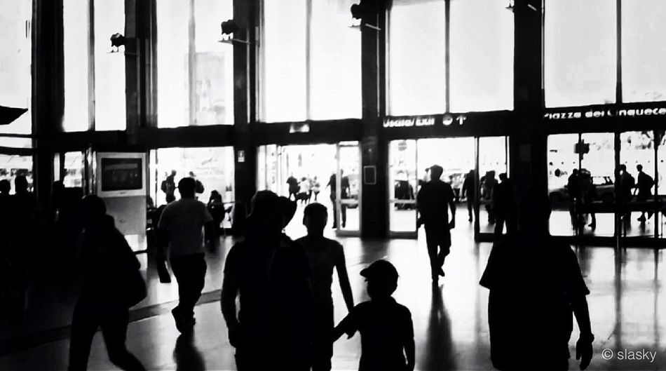 Blackandwhite Minimalism Public Transportation Silhouette