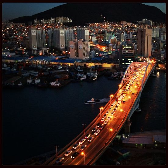 Pusan Life Busan Night Lights Beauty