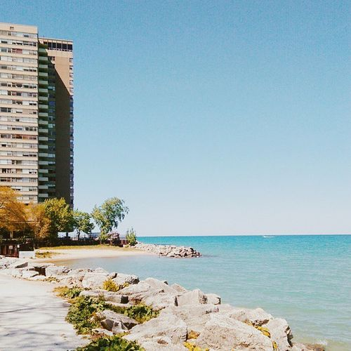 Somewhere next to Lake Michigan Vscocam Lakemichigan Near Loyola  Pretty Htconem8 Random Photo WOW Nice
