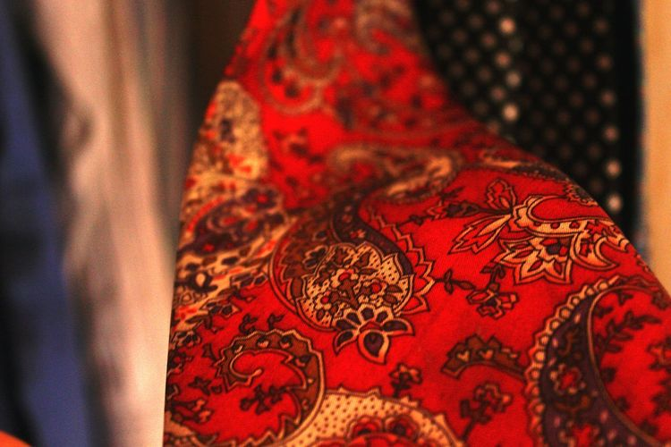 Randomshot Random Photography Mypointofview April 2016 Red Red Tie Cloth Wearables Pattern Photography Almira View Formal Clothing