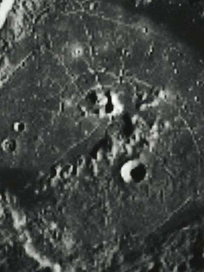 Weird city looking stuff on the surface of the moon. Moon City Moon Shots Alien City On The Moon Check This Out