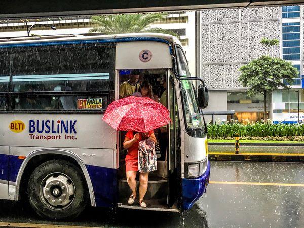Rainy day Water Real People Transportation Eyeem Philippines Umbrella Rainy Days Outdoors