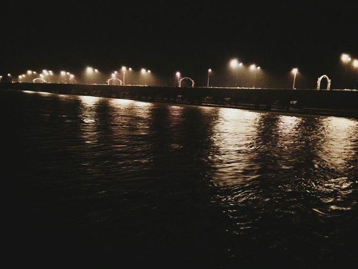 Sultan Yahya Petra Bridge @ 1.00 am, 23rd Dec 2014 Night Out Night Sky Nightphotography Floodwaters Kelantan #malaysia