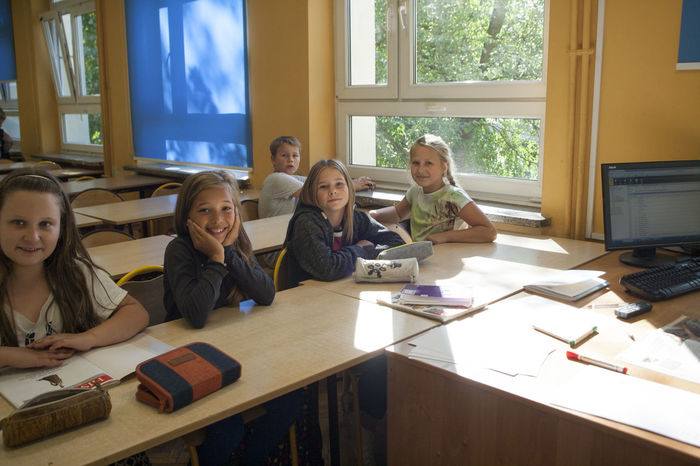 Children 9-13 years in everyday life by teaching in a primary school in Berlin comming from families of mixed Russian-German month ago were hosting in their homes and schools Polish learners. This is the first time in history have been able to replace such a young 9-13 years old learners. Now the Germans came for 5 days to Polish families to school and odladac Warsaw. Each had his partner with whom he lived. Official language of communication is English. everything was organized by p. U.Wosztyl and it was made possible by funding 90% by - DPJW ( deutsch polnische Jugendwerk ) Clasroom Replace Years Young Children Classes DPJW ( Deutsch Polnische Jugendwerk ) Each Had His Partner Families Families Of Mixed Russian-German First Time In History Friends Funding German Ordinary Guys Found The Beautiful Russian Women As Wives Group Of Childrens Group Of People Group Photo LEARNERS Official Language Of Communication Is English Outdors Primary School In Berlin Russian-German Sports Warsaw łazienki Królewskie