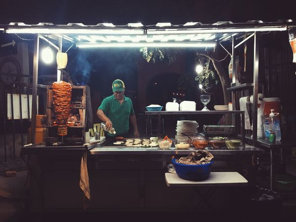 Late Night Tacos Cooking Streetphotography