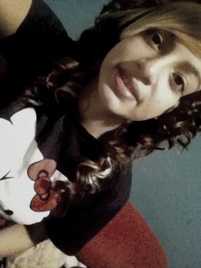 I Curled My Hair :)