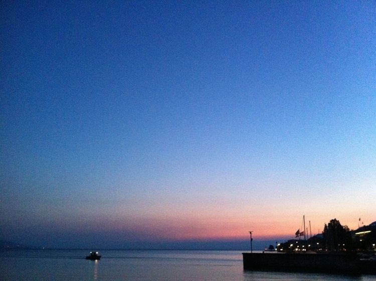 Peaceful Evening Enjoying Life I Wish You Were Here