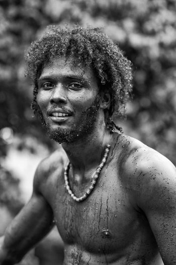 Shango, the diver. Hello World Enjoying Life Relaxing Portrait Black And White Photography EverydayEmotion Canon EyeEm Best Shots - Black + White EyeEm Gallery EyeEm Best Shots EyeEm Monochrome Blackandwhite Blackandwhite Photography Canonphotography The Portraitist - 2016 EyeEm Awards Jamaica Spanish Bridge