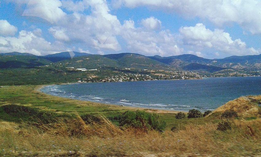 Sea Sea And Sky Sea View Sky Clouds And Sky Mountains The Week On Eyem EyeEm Best Shots Balikesir Edremit
