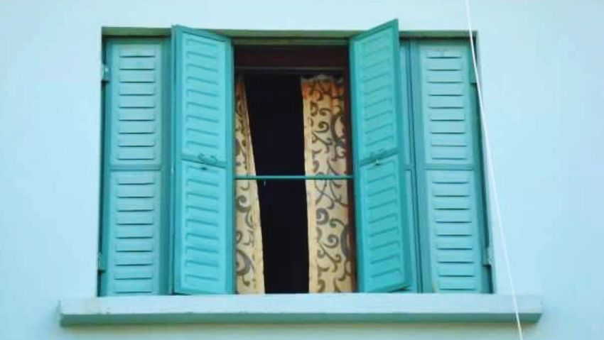 Window No People Architecture Outdoors Day Built Structure Travel Photography Traveling Turkey Altinoluk Beautiful Colors Turquoise