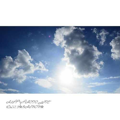 2015.07.17. * イマソラ * 台風過ぎたのかな? 青空が広がりました(*´ω`*) * イマソラ 空 台風一過? Sky blue_sky olympus olympusomd olympus倶楽部 om_d e_m1 my_pic