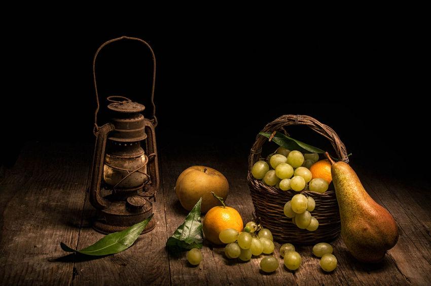 still life Black Background Close-up Food Food And Drink Freshness Fruit Healthy Eating Indoors  Leaf Olive Oil Still Life Studio Shot Table