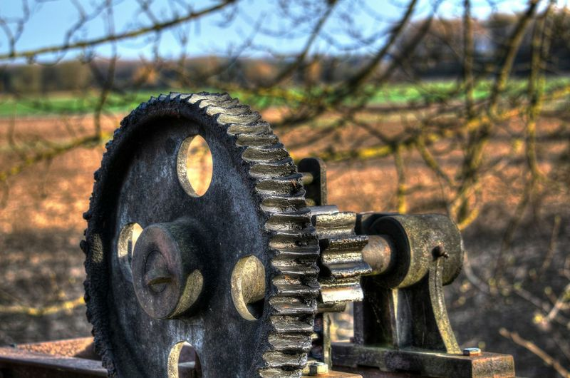 Gear Valve Taking Photos Hdrphotography Germany Closed Ingolstadt Outdoors