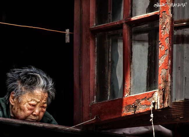 China People Emotion Face Of EyeEm Life In The Streets Normal People Scare Me Old Generation Sadness Shanghai Streets First Eyeem Photo