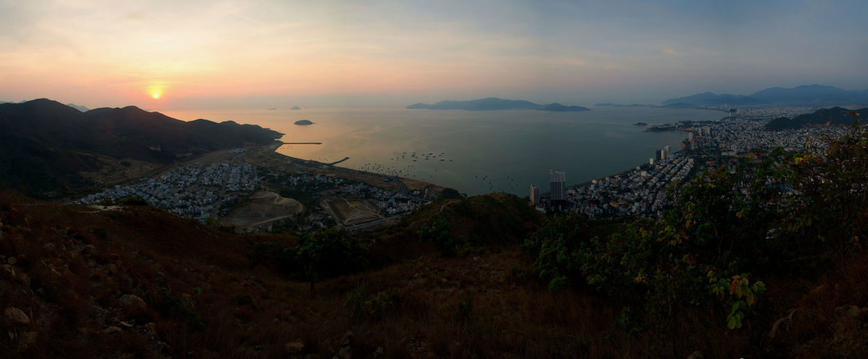 Nha Trang Bay view from the top of Fairy Mountain Beach Beauty In Nature Cloud - Sky Hiking Mountain Mountain View Nature Nha Trang Nha Trang Bay Nha Trang Over View NhaTrang NhaTrangbeach Nhatrangphoto No People Sunrise Travel Traveling