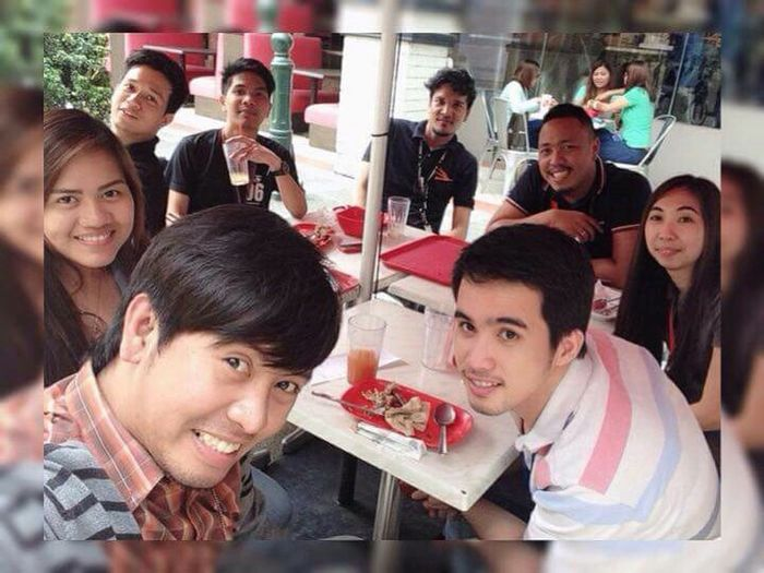 Last Friday lunch... Teammates Officemates First Eyeem Photo