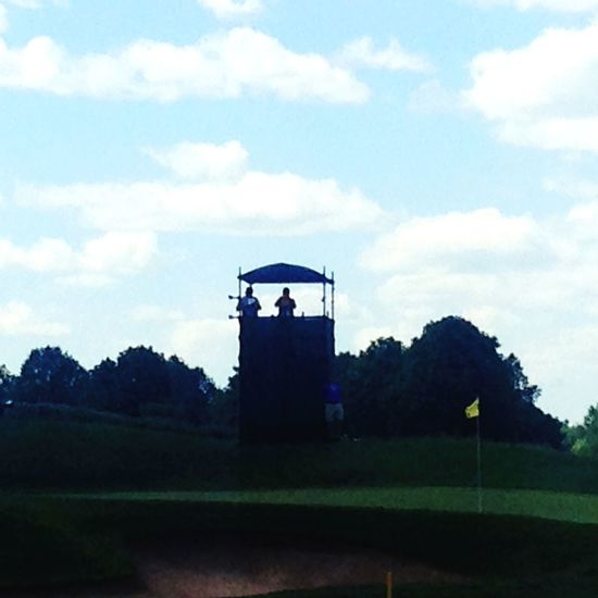 Golfing Hole In One! Summertime Contrast Outside Photography Outdoors Watching Taking Photos Canadian Spectator