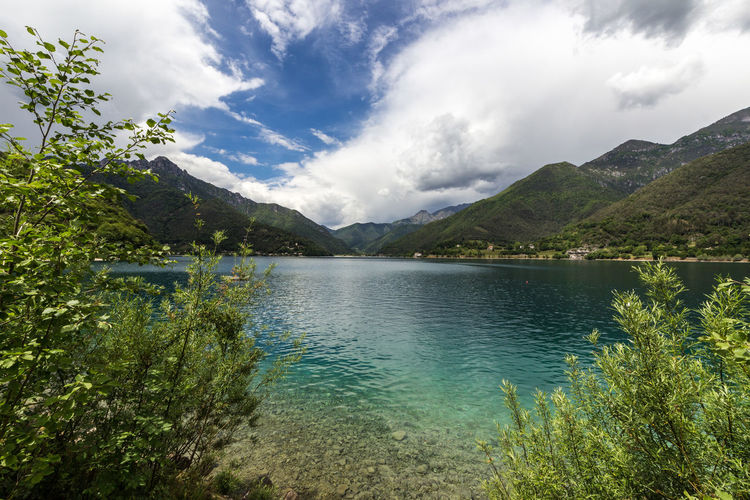 Lago di Ledro Lake Lake View Water Lago Di Ledro Ledrosee Alps Italy Clear Water Waterfront Cloud - Sky Sky Scenics - Nature Beauty In Nature Mountain Tranquility Tranquil Scene Plant Nature Tree Mountain Range Day Non-urban Scene No People Idyllic Outdoors Landscape