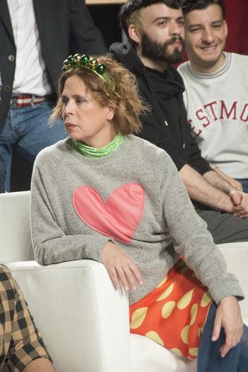 Agatha Ruiz de la Prada at the informal presentation of the MBFW 2016 Madrid fashion designers, Madrid, Spain Agatha Ruiz De La Prada Fashion Fashion Designer Ifema Mbfw Mercedes Benz Fashion Week Portrait Spanish Fashion Woman