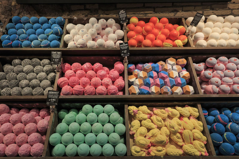 Bath bombs, colorful in Roome Coliseum Quirinale Rome Viminale Bath Bombs Beauty Europe Fori Romani Helth Italy Trevi
