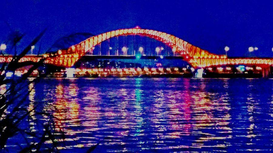 방화대교 Han River Bridge In Seoul Night View Bridge Han River Bridge