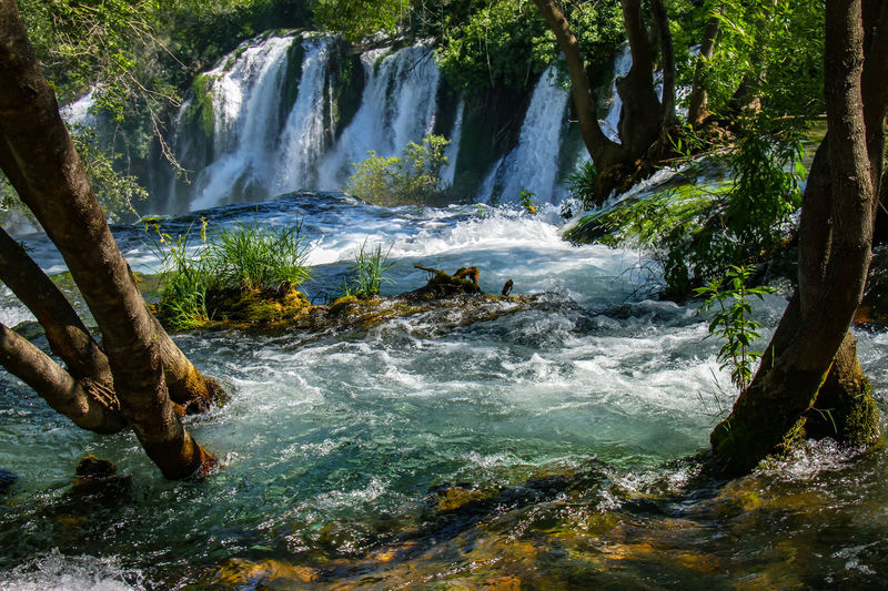 Adventure Beauty In Nature Day Forest Freshness Kravica, Bosnia & Herzegovina Landscape Motion Nature No People Outdoors Power In Nature River Scenics Sky Tranquil Scene Tree Water Water_collection Waterfall