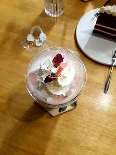 If there were a straw for heart, I would share how much you made me sweet. Heart Straw Indoors  Table Sweet Food High Angle View Dessert Food And Drink No People