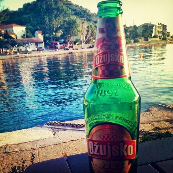 Relaxing in Croatia near Šibenik