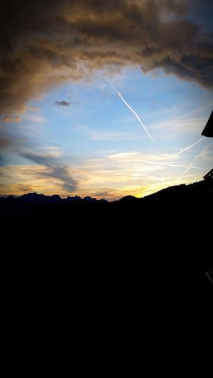 Sunset See What I See Relaxing Weeding ThankyouGod Home Sweet Home Afterwork Summer2015 Dramatic Sky