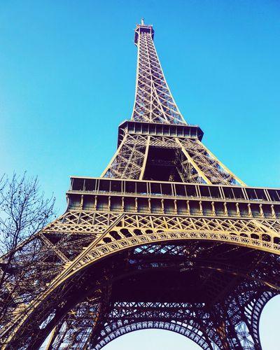 Paris Travelphotography Paris France Architecture Eifel Tower Ancient Civilization Pyramid City History Monument Skyscraper Urban Skyline Fame Blue Tower