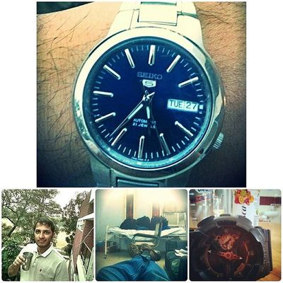 This week ..life.. Chandigarh Watchporn Gshock Seikowatches Watchfreak Watchfortheday Tea F4follow F4F Watchfinder
