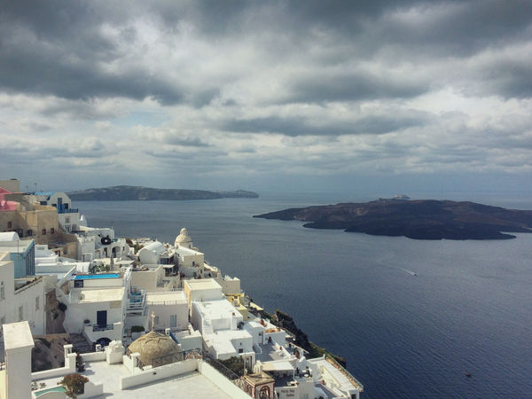 Santorini Architecture Cloud - Sky EyeEm Nature Lover Greece Island Scenics Sea Sky The Essence Of Summer The Great Outdoors - 2016 EyeEm Awards Volcano