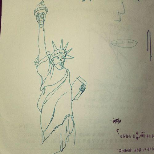 그림 Drawing Illustration 여신 미국 Sketch 휴가엔 펜과 종이를ㅎㅎㅎㅎ