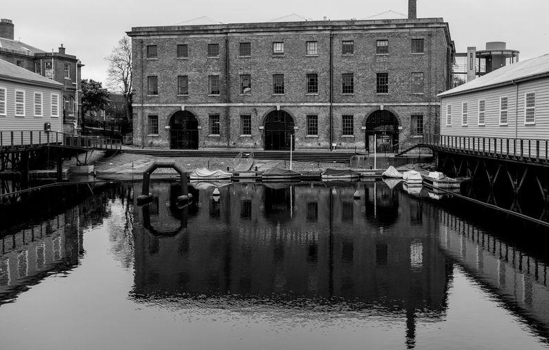 Boathouse 6, Portsmouth Royal Dockyard Architecture Naval Portsmouth Harbour Portsmouth Historic Dockyard Black And White Portsmouth Monochrome