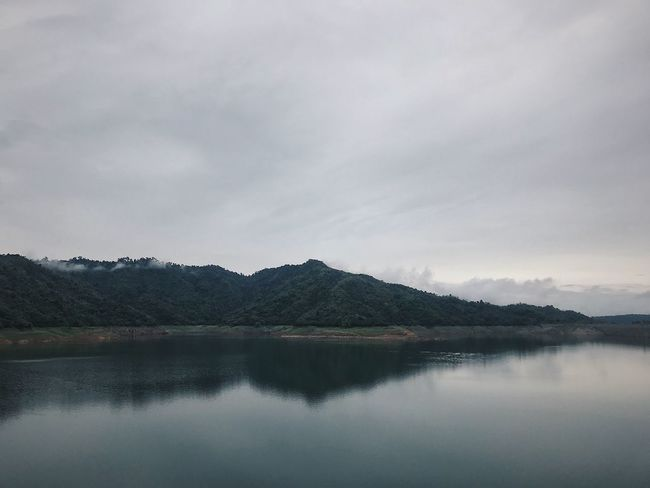 IPhoneography IPhone7Plus VSCO Water Sky Cloud - Sky Scenics - Nature Tranquility Tranquil Scene Lake