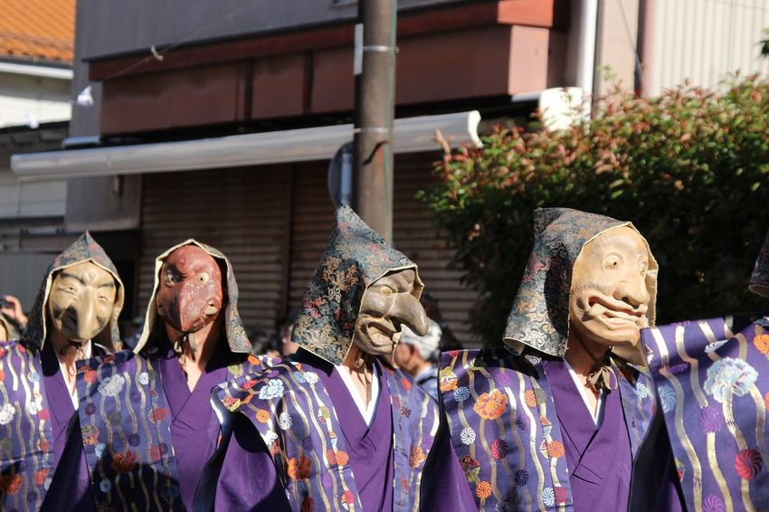 Japan Kamakura Matsuri Shinto Shrine Festival