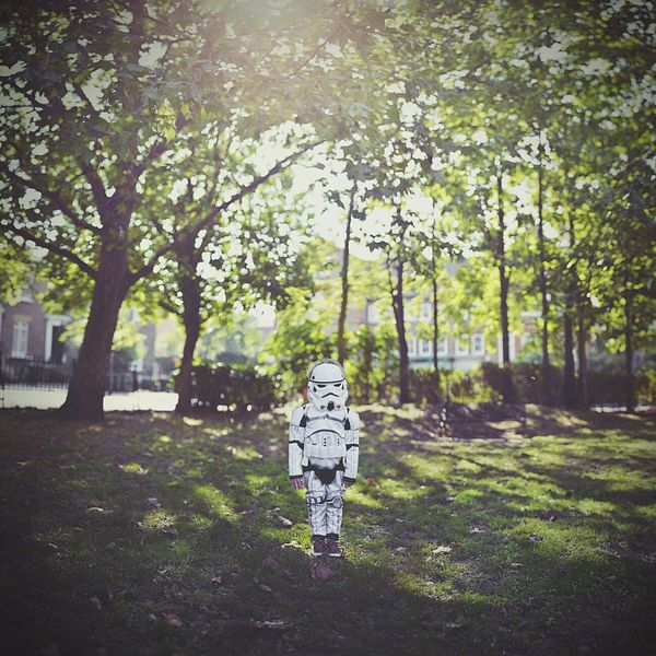 Happy Halloween starwars Stormtrooper Childhood Dressing Up Costume Shootermag Childsplay EyeEmBestPics Imagination Playtime Pastel Pics
